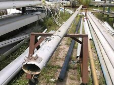 "29 feet 2 inch Aluminum Sailboat Mast  (6.5 x 4.5"") Has Spreaders and Head"