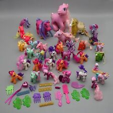 Lot of 30+ My Little Pony MLP Toy vinyl Horses Dolls Ponies Combs Hair Clips