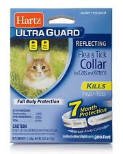 HARTZ ULTRAGUARD FLEA & TICK COLLAR FOR CATS & KITTENS 7 MONTH PROTECTION White