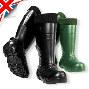 Hunting Voyager Rain Thermal LIGHTWEIGHT EVA Wellies Wellingtons BOOTS // -35C