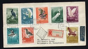 Hungary 1937-59 cover, FDS 1lot