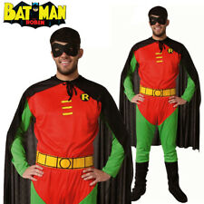 Batman Robin Mens Superhero TV & Movie Adults Fancy Dress Halloween Costume
