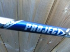 """PULLED PROJECT X 6.0   36.25"""" .355 TIP STEEL IRON SHAFT GOLF CLUB"""