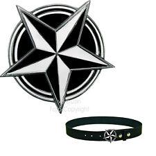 Ceinture Combinaison amovible ceinture Rockeur Rock Star Biker Skull Tete de mort Celtes 4 cm