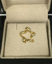 18K Yellow Gold Star Pendant