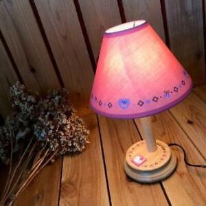 90's Vintage Sanrio Hello Kitty Wooden Desktop Stand Light Lighting Lamp Japan