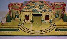 MARX PRE-WAR TIN LITHO GRAND CENTRAL STATION - O SCALE - 2 LIGHT MODEL