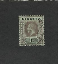 Nigeria SCOTT  #15 POSTAGE AND REVENUE Θ used stamp