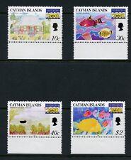 Cayman Islands 1999 #771-4  Children's Art  fish    4v.  MNH  M403