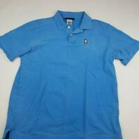 Psycho Bunny Blue Classic Short Sleeve Polo Shirt XL 7 Mens