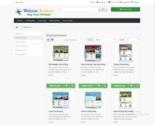 Ecommerce Website Selling Ready Made Niche Blog Websites 30 Scripts Included
