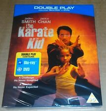 Karate Kid - Double Play (Blu-ray + DVD) Jackie Chan - NEW