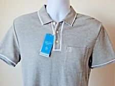 78803c27 NWT PENGUIN BE ORIGINAL HERITAGE SLIM FIT CHEST POCKET POLO SHIRT GREY SMALL
