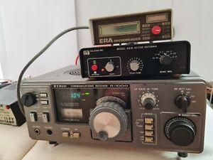 Trio R1000, Palstar AA30 antennae ERA micro reader ICOM communications receiver