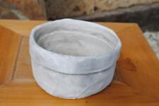 Übertöpfe,Schalen,Keramik,zement-grau,2er Set,16cm