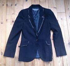 Frauen Gr. S 36 Blazer schwarz mit Pailletten von Zara festlich elegant Feier