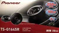 """NEW Pioneer TS-G1645R 6-1/2"""" 2-way Car Stereo Speakers, 6.5"""", (1 PAIR) TSG1645R"""