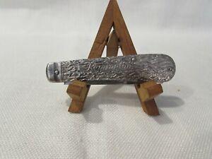 Vintage 1924-1933 Remington UMC R1399 Jack Knife Nickel Plated Handle