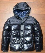 Armani Exchange A/X $290 Men's Black Shiny Puffer Winter Blouson Jacket Coat XL