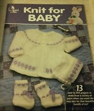 1999 ANNIE'S ATTIC,  KNIT FOR BABY