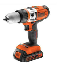 VISSEUSE LITHIUM SANS FIL A PERC 18V BLACK&DECKER 2 BATTERIES + COFFRET