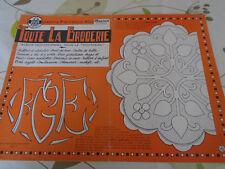 ANCIEN ALBUM POUR LE TROUSSEAU TOUTE LA BRODERIE N°75   ANNE 1959