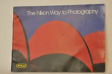 The Nikon Way to Photography Booklet FM2N F3 HP era