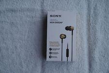SONY MDR-EX650AP Headphones - Black & Gold