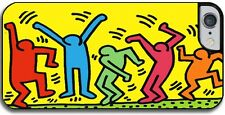 """Cover per iPhone 6 plus / 6S plus con stampa """"The Dancers"""" Keith Haring"""