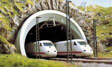 Busch 7021, ICE Tunnelportal 2-gleisig, H0 Modellwelten Bausatz 1:87