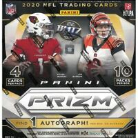 2020 Panini Prizm Football Mega Box Sealed NFL Burrow? Tua? Herbert?