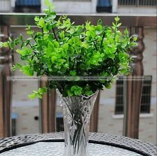 7 Branches Artificial Fake Eucalyptus Plant Flowers Green Home Decor New S2