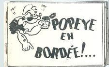 Popeye en bordée ! Dirty comics Bande dessinée humour curiosa