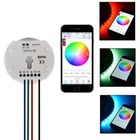 UFO DC12/24V Bluetooth RGB/RGBW LED Controller for 5050 RGBW LED Strip Lights