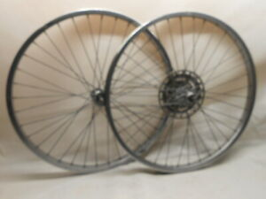 "NOS 7 9//16 DB 20/"" Wheel Bicycle SPOKES Nipples Vintage Schwinn Tank Bike S-2 Rim"