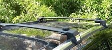 Roof Rack Cross Bars Black For Jeep Compass 2011 2012 2013 2014 2015 2016