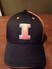 University Of Illinois Fighting Illini Baseball Cap Hat Brand New With Tags