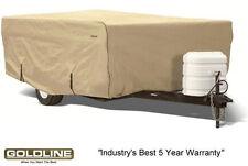 Goldline Premium Folding Pop Up Camper Cover 8 to 10 FT - TAN