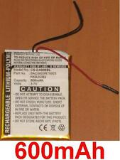 Batterie 600mAh Pour Creative Zen type BAC0603R79925 KKBJGIBJ