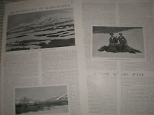 Photo article big game hunting in Africa 1904 ref Y3