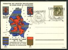 Luxemburg Tag der Briefmarke Journee du Timbre 1939 Luxembourg