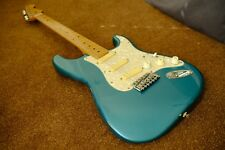WARMOTH STRATOCASTER  LAKE PLACID BLUE BIRDSEYE MAPLE NECK AGED RELIC'D WORN
