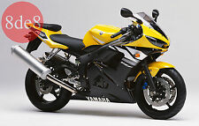Yamaha YZF R6 (1999-2005) - Workshop Manual on CD