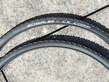 Pair Schwalbe 700 X 30c CX COMP Tyres