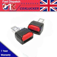 2pcs Car Seat Belt Extender Extension Safety Buckle Clip Universal Adjutable Car