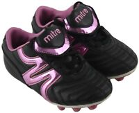 Baby Toddler Mitre Black Pink Metallic Cleats Athletic Shoes Size Missy 11