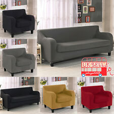 Sofa Couch Slip Over Stretch Covers Elastic Fabric Fit Settee Protector Pad Cove