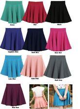 Polyester Patternless Flippy, Full Skirts for Women