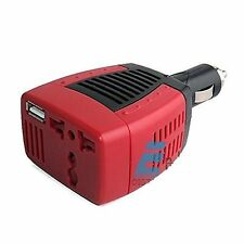 Car Power Inverter with USB Port for Laptop, Mobile 75 Watts 12v DC to 220v AC