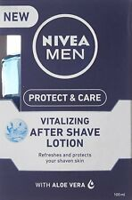 Nivea Men protect & care Vitalizing After Shave Lotion  - 100 ml -FREE SHIP